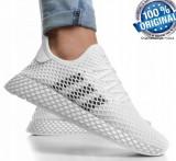 "ADIDASI Originali 100% Adidas Deerupt Runner ""WHITE"" Unisex nr 39, 39 1/3"