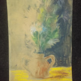 Pictura Romaneasca Deosebita 1962, Flori, Pastel, Abstract