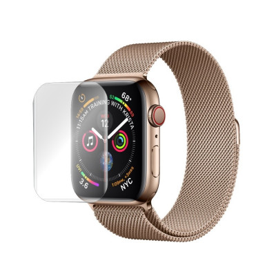 Folie de protectie Antireflex Mata Smart Protection Apple Watch Series 4 de 40mm - 2buc x folie display foto