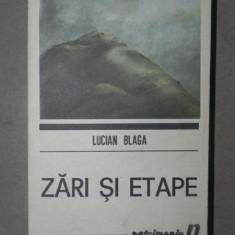 ZARI SI ETAPE - L. BLAGA BUCURESTI 1990