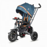 Tricicleta multifunctionala Coccolle Pianti, True Blue