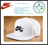 In Stoc! Sapca Nike SB Pro - 100% bumbac - reglabila - 628683-103, Marime universala, Alb
