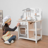 Bucatarie Bon appetit Alb Argintiu, New Classic Toys