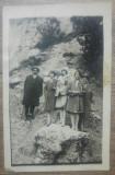 Fotografie de grup la Sinaia// stampila Bufetului Sfanta Anna pe verso
