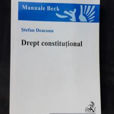 DREPT CONSTITUTIONAL - STEFAN DEACONU