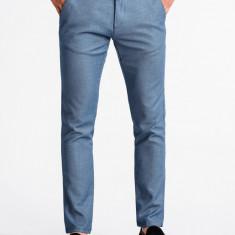 Pantaloni premium, casual, barbati - P831-albastru