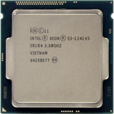 Procesor Intel Xeon Processor 4 CORE E3-1241 v3 3.5Ghz LGA1150