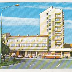 Bnk cp Satu Mare - Hotelul Aurora - necirculata - marca fixa, Printata