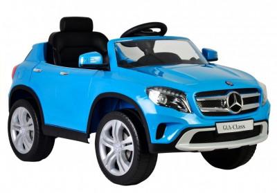 Masinuta electrica Mercedes-Benz GLA Class, albastru foto