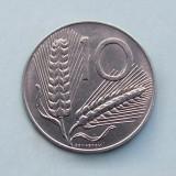 ITALIA  -  10 Lire 1998   -  aUNC, Europa, Aluminiu