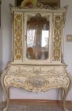VITRINA/SERVANTA MOBILA VINTAGE/ANTICA,baroc venetian/rococo/SILIK, Sufragerii si mobilier salon, 1900 - 1949