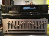 Technics Cassette Deck RS-B965 + Technics Equalizer SH-8020.