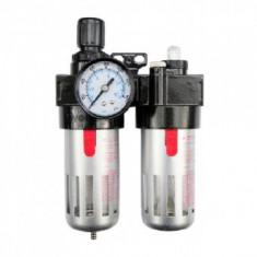 """Filtru de aer regulator si lubrifiant 1/2"""", Vorel 81556"""