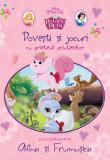 Povești și jocuri cu prietenii prințeselor. Să le cunoaștem pe Afina și Frumușica, Disney