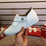 Pantofi Carisa albi casual -rl
