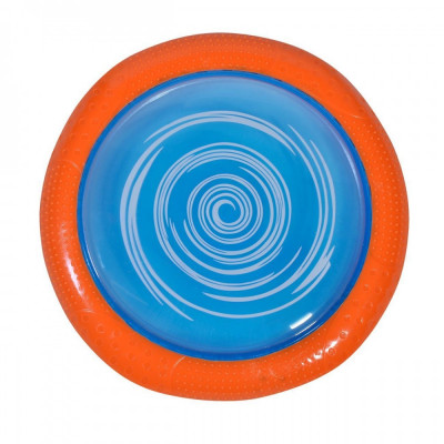 Disc zburator frisbee, 24.5cm, multicolor foto