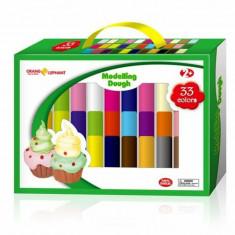 Plastilina modelaj, 33 culori