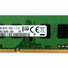 Memorie SAMSUNG 4GB DDR3 1600Mhz PC3-12800U - 1Rx8, M378B5173DB0-CK0,Ram Desktop