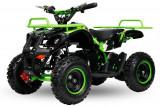 Mini ATV Electric Eco Torino Deluxe 1000W 48V cu 3 Trepte de Viteza Verde