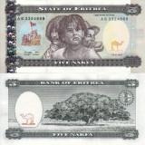 ERITREA 5 nakfa 1997 UNC!!!