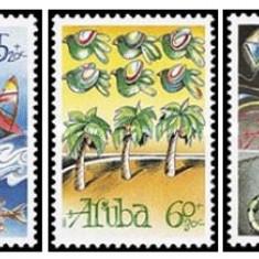 Aruba 1990 - Pentru copii, serie neuzata