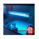 Cumpara ieftin Lampa bactericida UVC economica, cu ultraviolete 2x55W, fixa, Biocomp