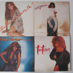 4 Tina Turner Disc-Discuri Vinil-Vinyl Lot-Collectie Rock-Funk-Soul
