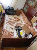 Vand pat cu vitrina