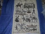 Carpeta hand made, vintage din lana
