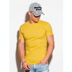 Tricou barbati S884 - galben