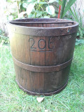 Masura 20 litri banita feldera lemn veche
