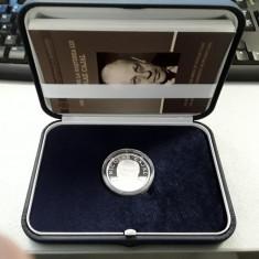 Moneda argint 100 de ani de la nașterea lui Nicolae Cajal