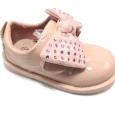 Pantofi eleganti ,lacuiti, roz prafuit, bebe, 18-23