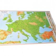 Harta fizica a Europei
