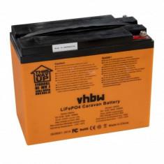Acumulator pentru wohnwagen, boot, solar-anlage u.a. lifepo4, 12.8v, 42ah, ,