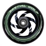 Roata Trotineta Bestial Wolf Twister 110mm + Abec 9 Black/Black