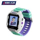 Cumpara ieftin Ceas Smartwatch Pentru Copii Xkids X20 cu Functie Telefon, Localizare GPS, Apel monitorizare, Camera, Pedometru, SOS, IP54, Incarcare magnetica, Alb -