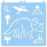 Cumpara ieftin Desenez dinozauri – cu șabloane
