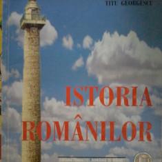 TITU GEORGESCU - ISTORIA ROMANILOR, 2000
