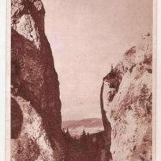 Cheia/ Cheile Tatarului Ialomita Bucegi cale ferata