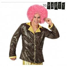 Jachetă pentru Adulți Th3 Party Disco Luciu Auriu*