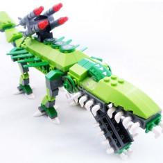 Dinozaur Armored Heroes tip Lego cuburi
