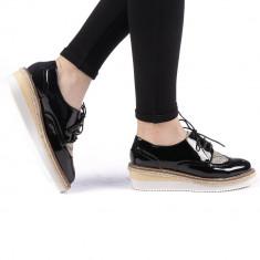 Pantofi dama Aurelia negri
