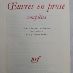 OEUVRES EN PROSE COMPLETES par VERLAINE , 1972 *BIBLIOTHEQUE DE LA PLEIADE