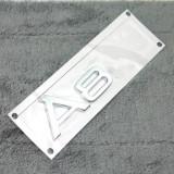 Emblema spate Audi A8 L si A8