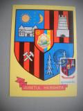 HOPCT  MAXIMA 72681   HARGHITA   - STEMA JUDETULUI / HERALDICA - ROMANIA, Romania de la 1950