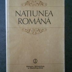 NICOLAE BOCSAN - NATIUNEA ROMANA, GENEZA, AFIRMARE, ORIZONT CONTEMPORAN