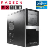 PC Gaming second hand Asus H81M-PLUS, Core i5-4590, ATI Radeon RX 480 Nitro 8GB, 256-bit