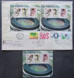 SAN MARINO- OLIMP.- SEOUL,1988, 1M/SH,+ FDC Circulat. NEOBLIT.SM 030A