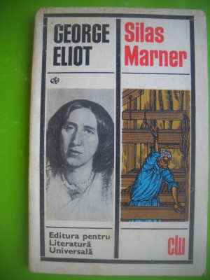 HOPCT  SILAS MARNER/GEORGE ELIOT -EDIT PT LIT UNIVERSALA 1969  -189  PAGINI foto